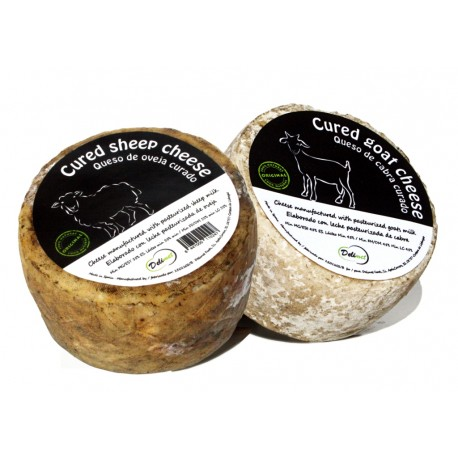 Pack of Spanish cheeses