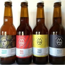 Pack of Mad Brewing beers
