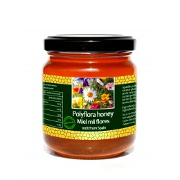Spanish polyflora honey - 250gr