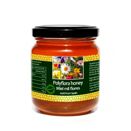 Spanish polyflora honey - 250gr
